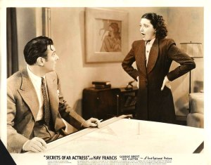 With George Brent