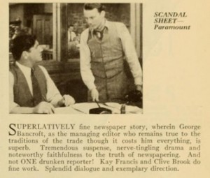 scandalsheetreview1931febphotoplay