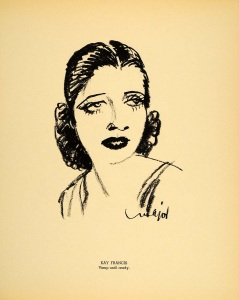 Kay Francis by Henry Major