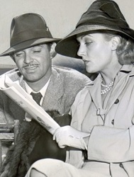 Gable with wife Carole Lombard, who was one of Kay's closest friends.