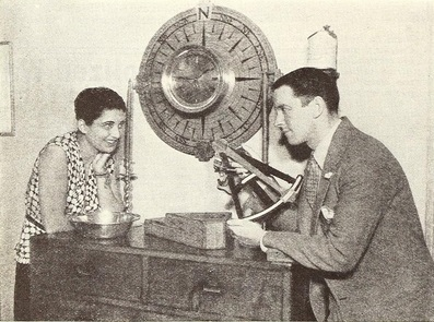 1930 with future husband Kenneth MacKenna.