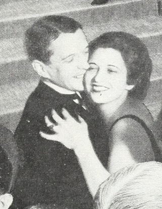 1933 dancing with Kenneth MacKenna.