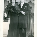 1934 with husband Kenneth Mackenna.