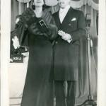 1934 with husband Kenneth Mackenna.