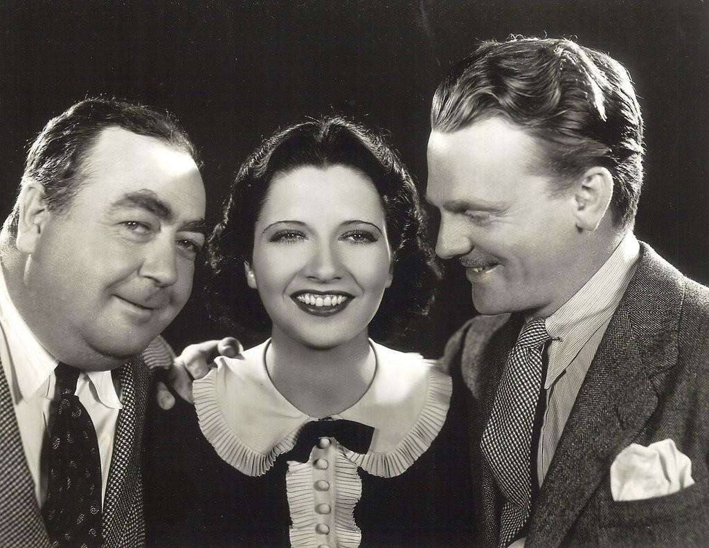 1934 with Eugene Pallette and James Cagney.