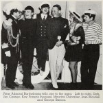 1935 party with famous friends.