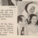 1935 with Harpo Marx & William Haines