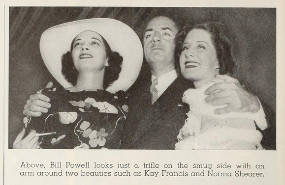 1936 with William Powell and Norma Shearer.
