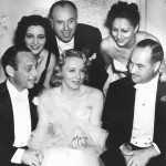 At the wedding of Virginia Bruce in 1937.