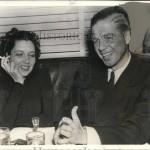 With Erik Barnekow in 1938.