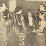 With Adrian, Mr. & Mrs. Basil Rathbone and Janet Gaynor.
