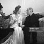 In 1945 at the wedding of Carole Landis.