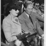 With Erik Barnekow in 1939