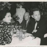 In 1940 with Louis Bromfield.