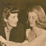 With Bette Davis in 1941.