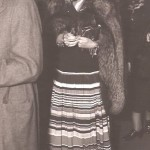 In 1937 at an unknown premiere.