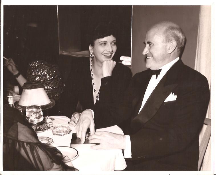 With Samuel Goldwyn in 1941.