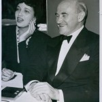 In 1941 with Samuel Goldwyn.